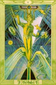 Il Mago nei tarocchi di Aleister Crowley
